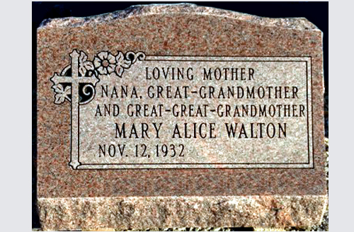 How To Design A Grave Marker To Memorialize Your Mother