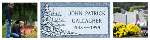 Click Here to View Pictures of Flat Grave Marker for Sale and Get Prices
